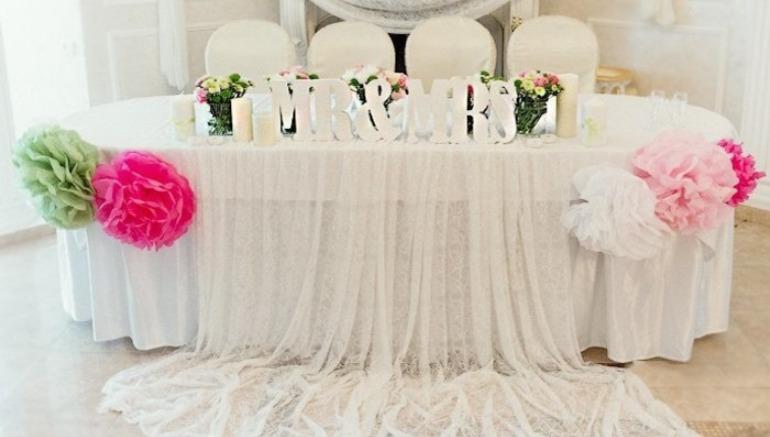 Юбки На Свадебный Стол