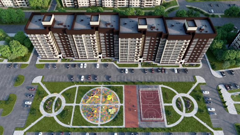 """ЖК бизнес-класса в мкр """"Мегаполис-Парк"""", поз. 16"""